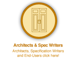 Architects and Spec Writers